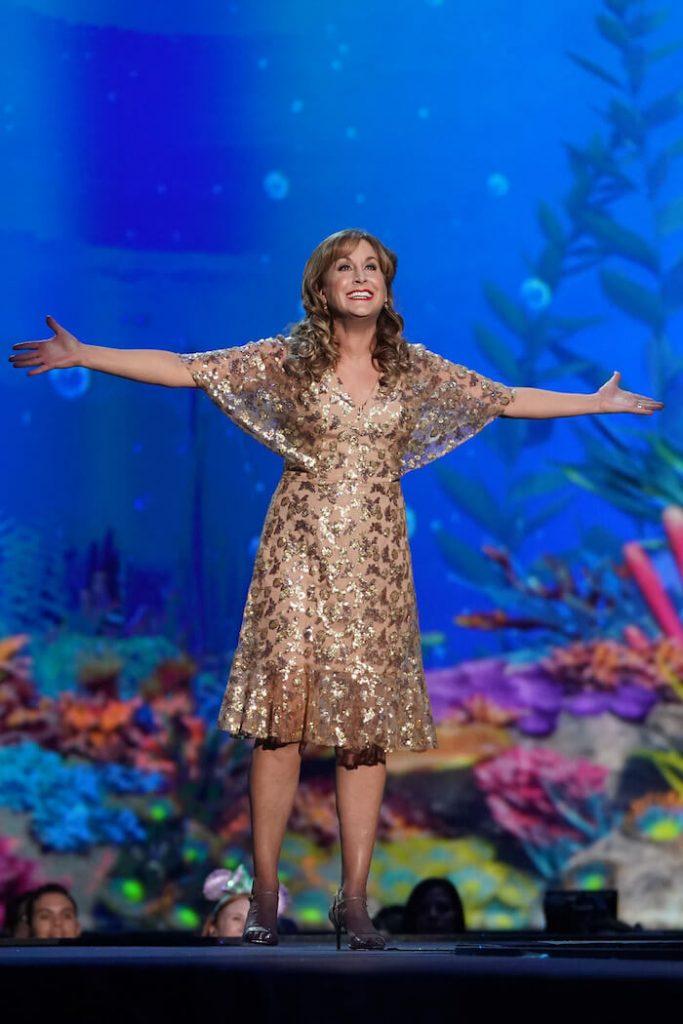 Jodi Benson the voice of Ariel in the Disney's The Little Mermaid