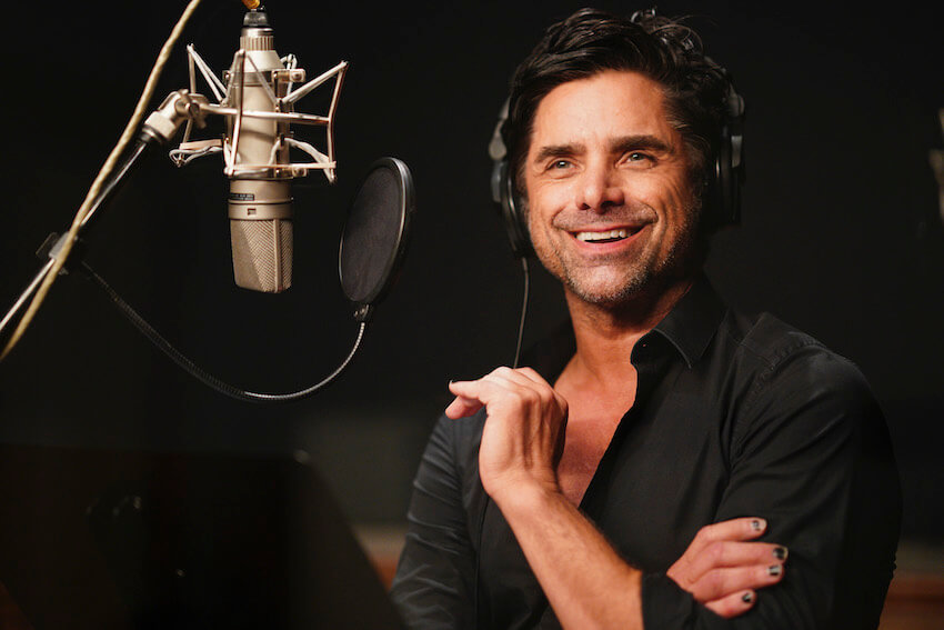 John Stamos at the studio