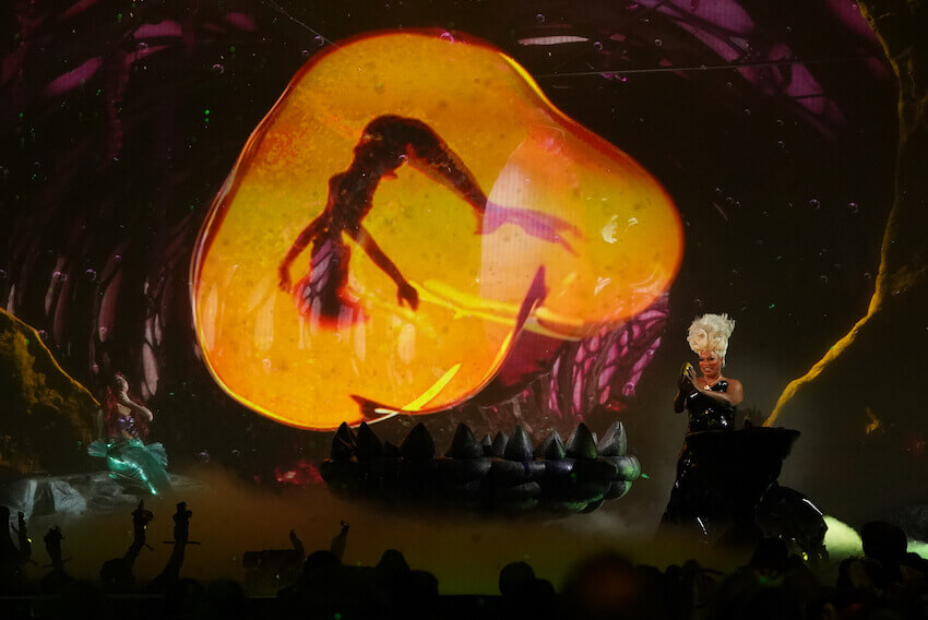 Visual effects in The Little Mermaid LIVE