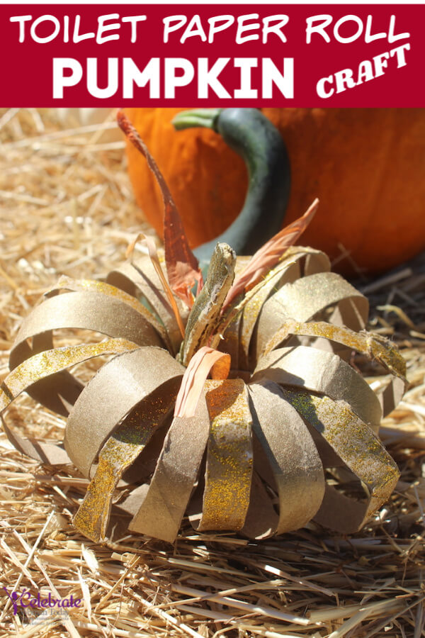 Toilet Paper Roll Pumpkins are an amazingly easy DIY project for your Fall crafts. Repurpose old items to create a truly unique home decor item. Fabric scraps, buttons, raffia from old packaging will make your Thanksgiving craft spectacular. #papercraft #pumpkincraft, #Falldecor #homecraft #rusticcraft #toiletpaper #toiletpapercraft #toiletpaperroll