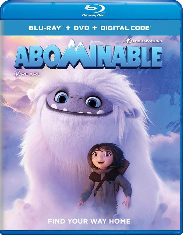 ABOMINABLE Movie Blu-ray dvd