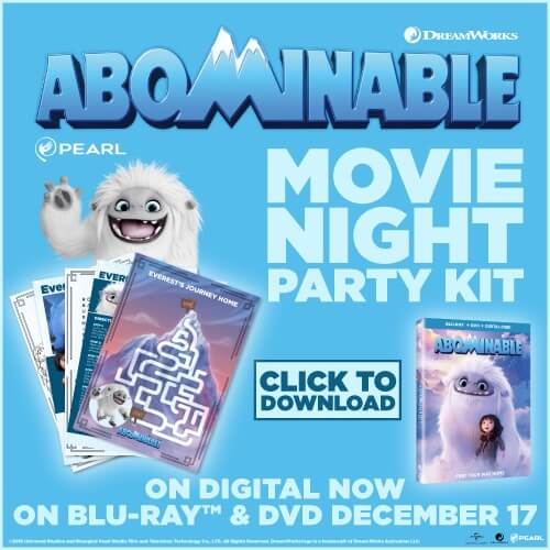 ABOMINABLE coloring pages and puzzles