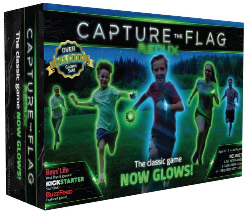 Capture the Flag active group game