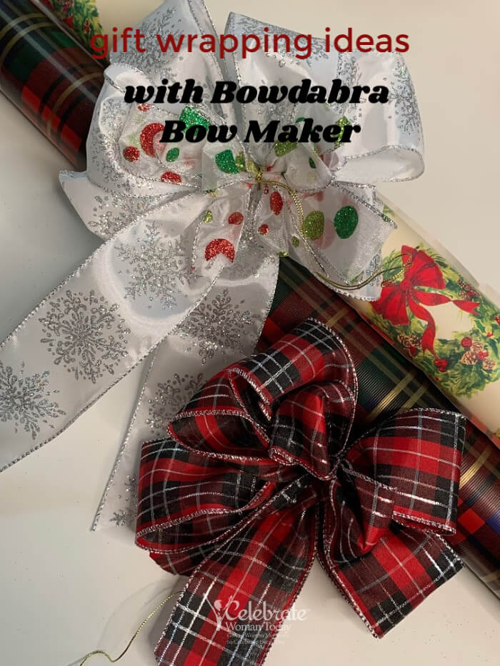 Gift Wrapping with Bowdabra bow maker