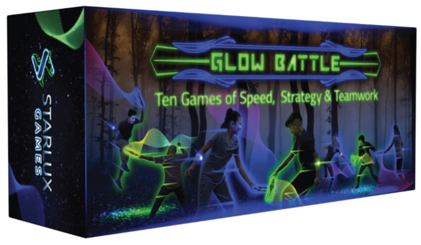 Glow Battle group game from Starlux Games