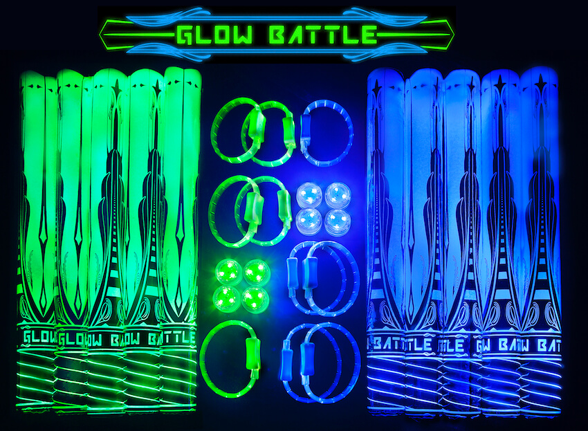 Glow Battle glow-in-the-dark bracelets