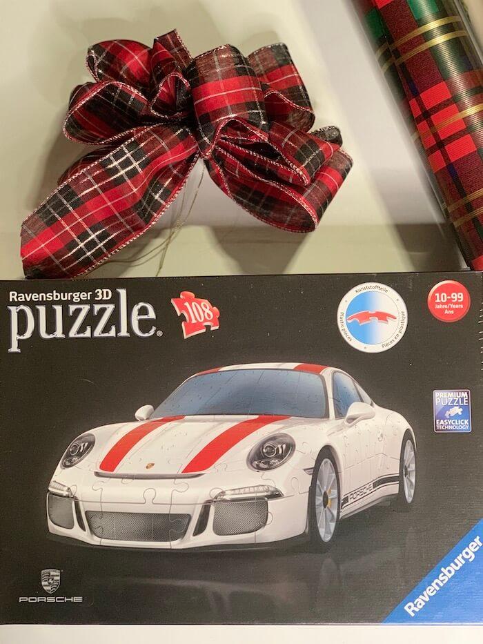 Ravensburger 3D Porsche 911 Puzzle