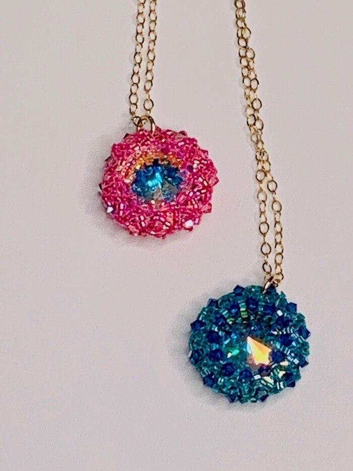 Lexi Butler Designes Swarovski pendant