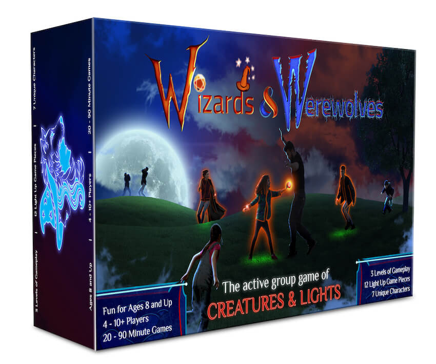 Wizards and Werewolves active game from Starlux Games