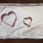 valentine's day pinata cake tools