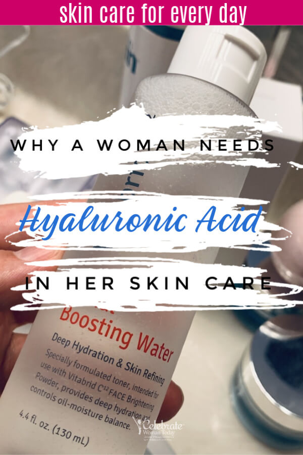Why woman needs hyaluronic acid