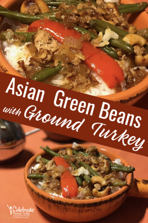 Asian Green Beans with Ground Turkey