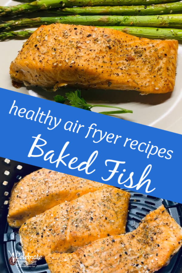 air fryer baked fish recipe