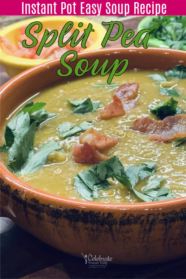 healthy split pea soup instant pot