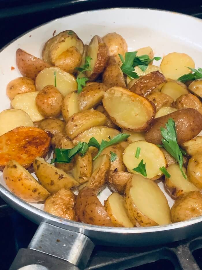 seasoned baby potatoes