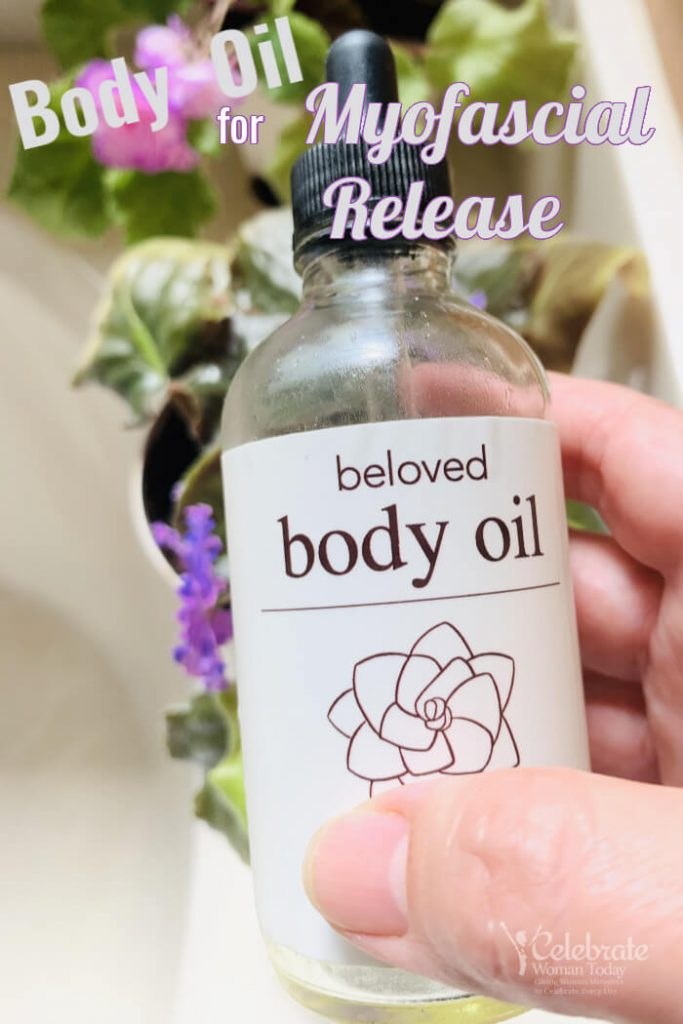 Body oil for myofascial release