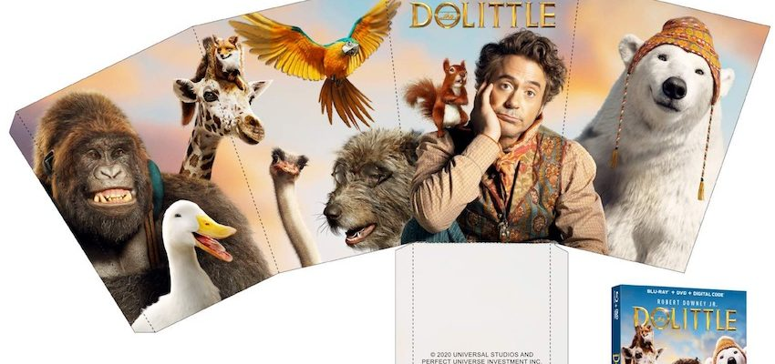 DOLITTLE Movie Night Package | Dolittle on Blu-ray DVD