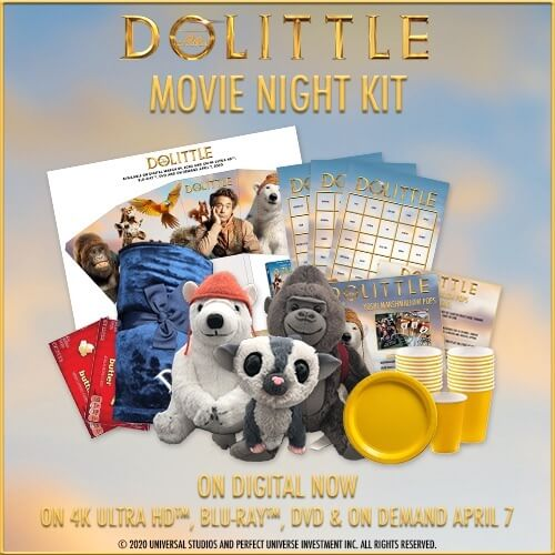 DOLITTLE Movie Night Gift Set