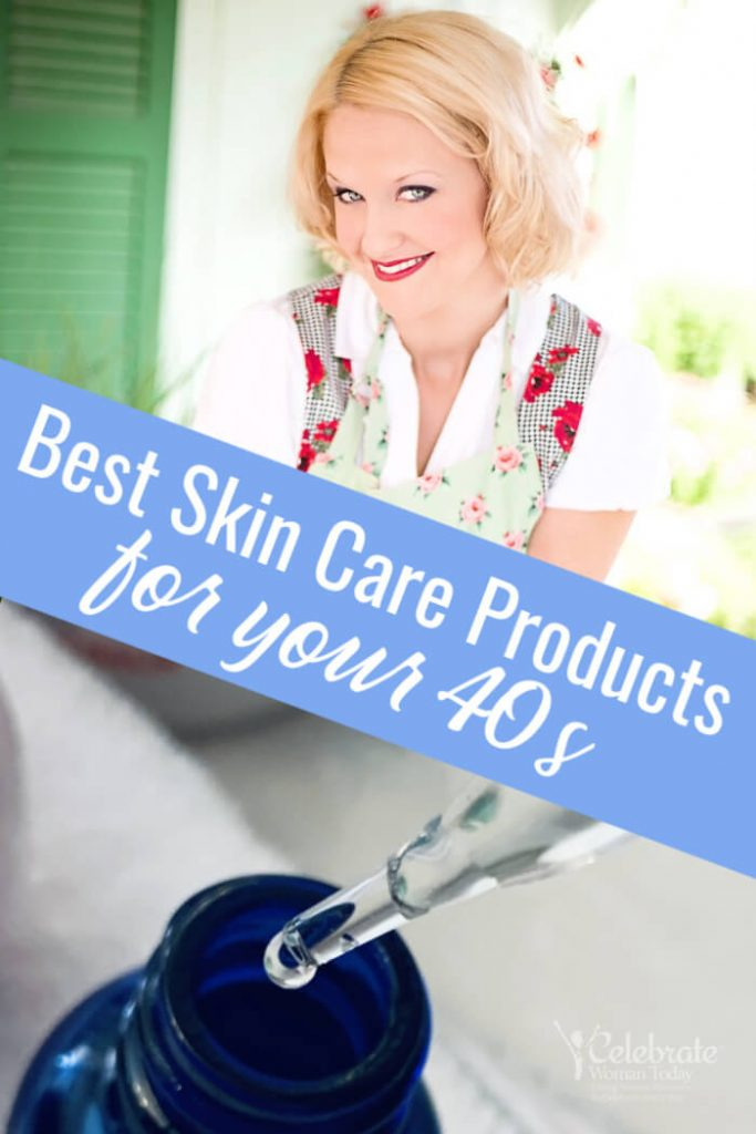 Best Skin Care Products for 40s skincare routine