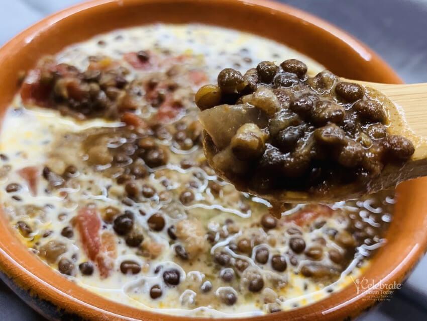 A Creamy Vegan Black Lentils Dal Makhani Recipe