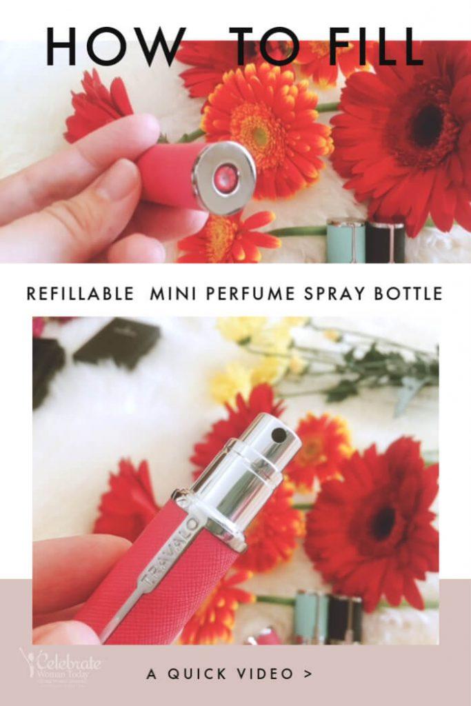 refillable travalo perfume atomizer