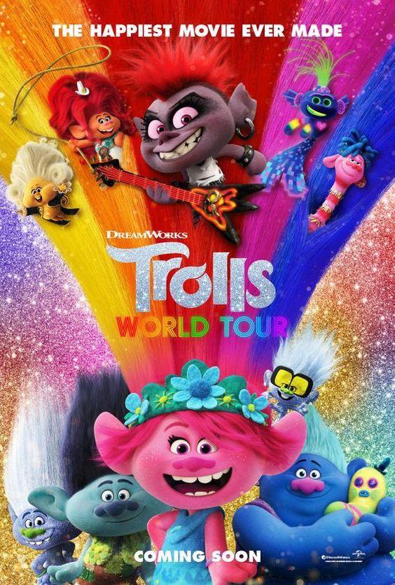 Trolls World Tour bluray DVD