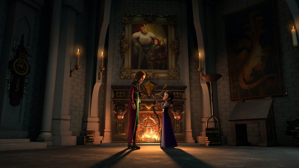 Morgana and Claire in Wizards, Tales of Arcadia