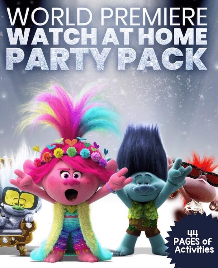 Trolls World Tour Activity Pages