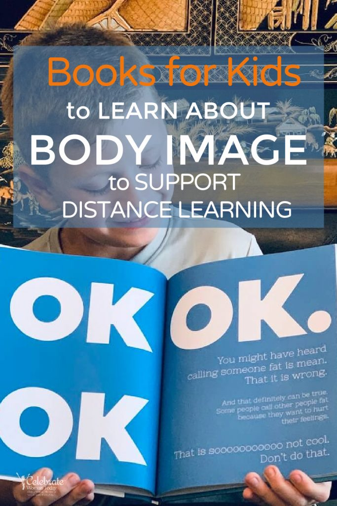 Books for Kids about Body Image for virtual classroom learning