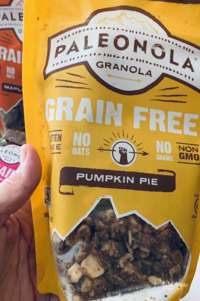 Paleonola Pumpkin Pie Gluten FREE cereal