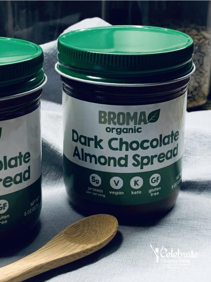 Gluten Free Dark Chocolate Almond spread