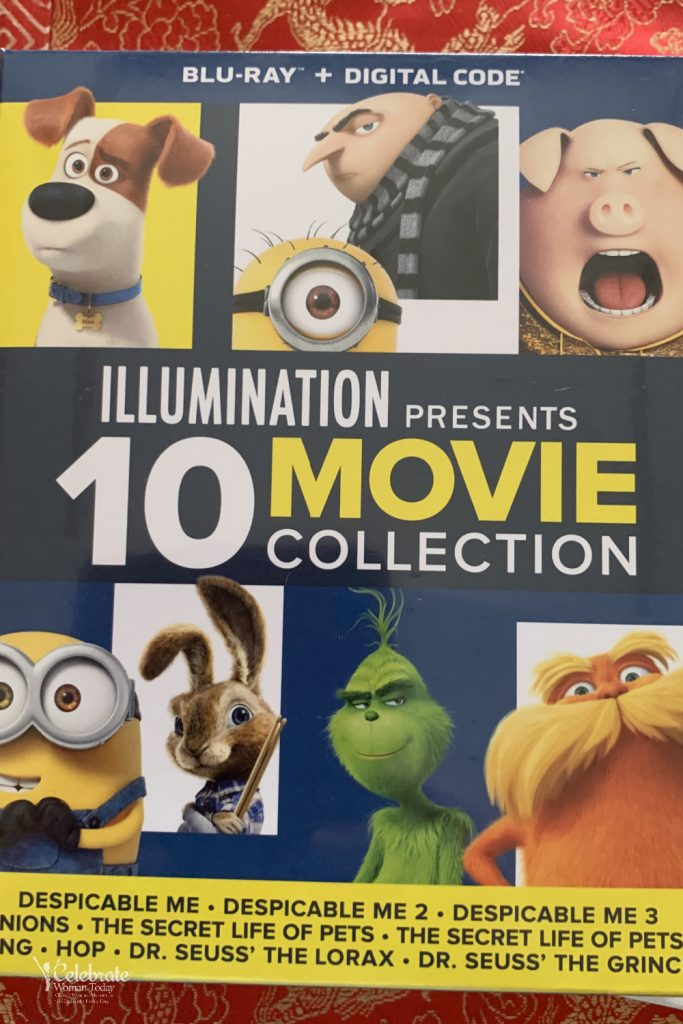 Illumination blu-ray 10-movie collection