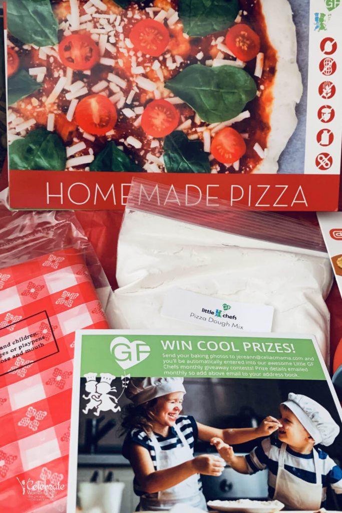 Pizza party Gluten FREE kit