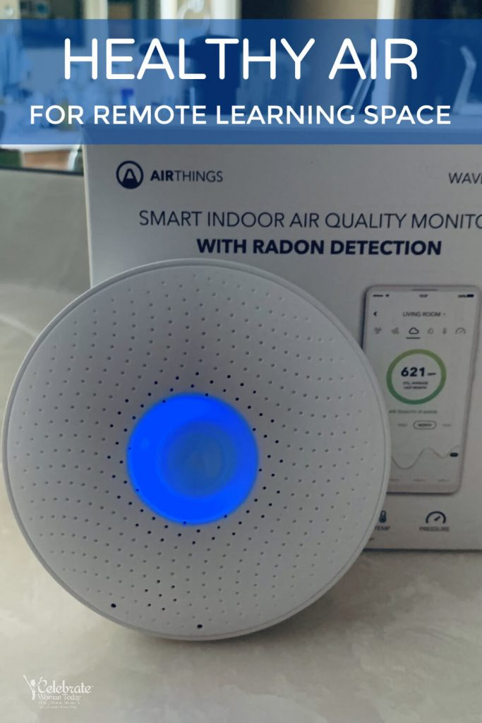 smart indoor air quality monitor WAVE PLUS