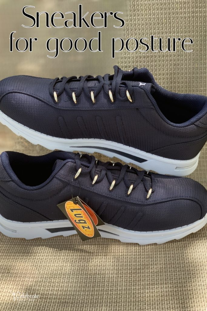 sneakers for good posture for men