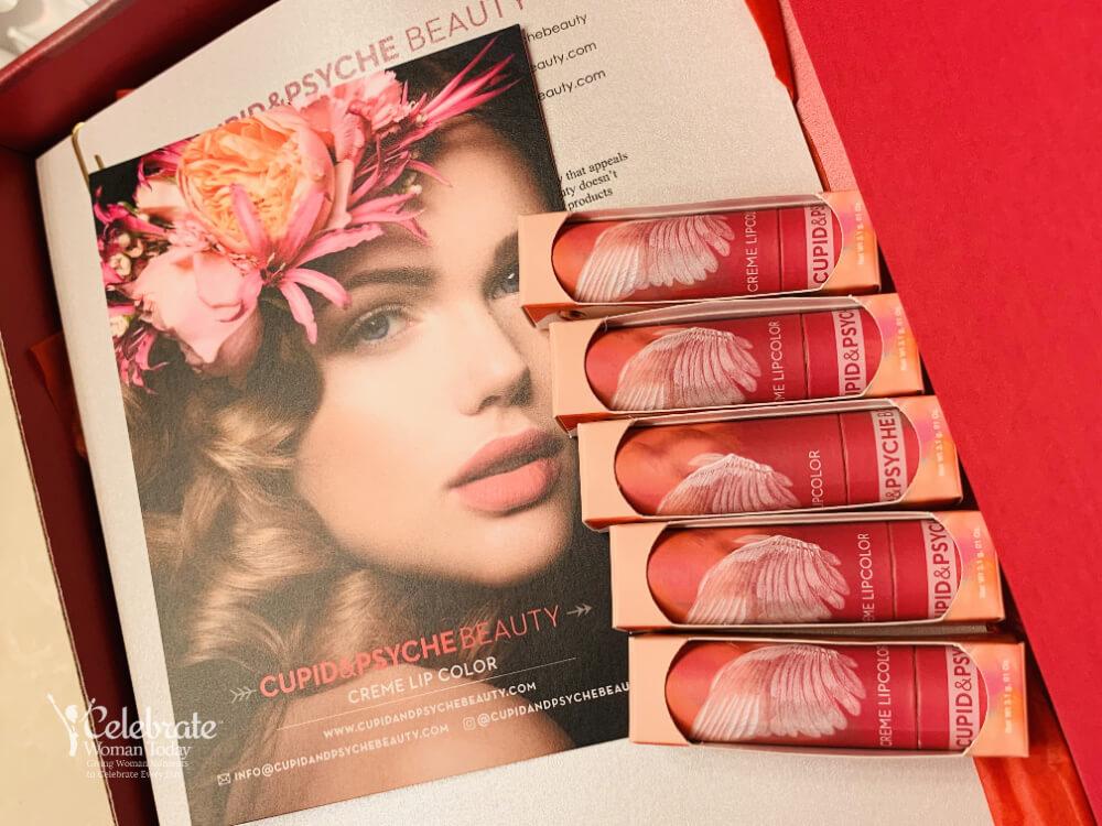 Cupid & Psyche Non-toxic Gluten Free Lipstic