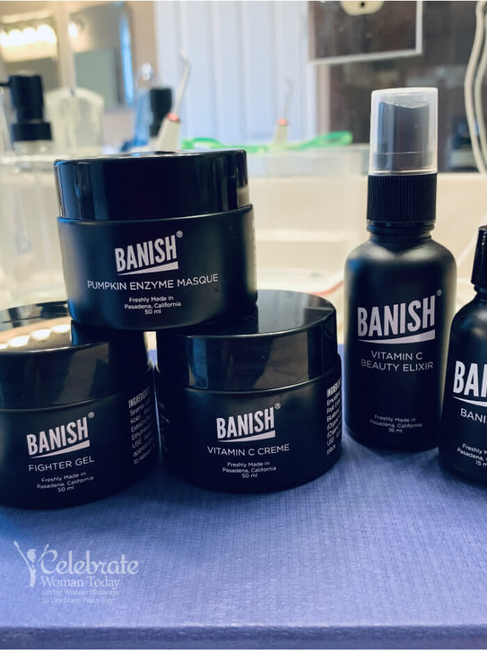 Banish anti-acne skin care