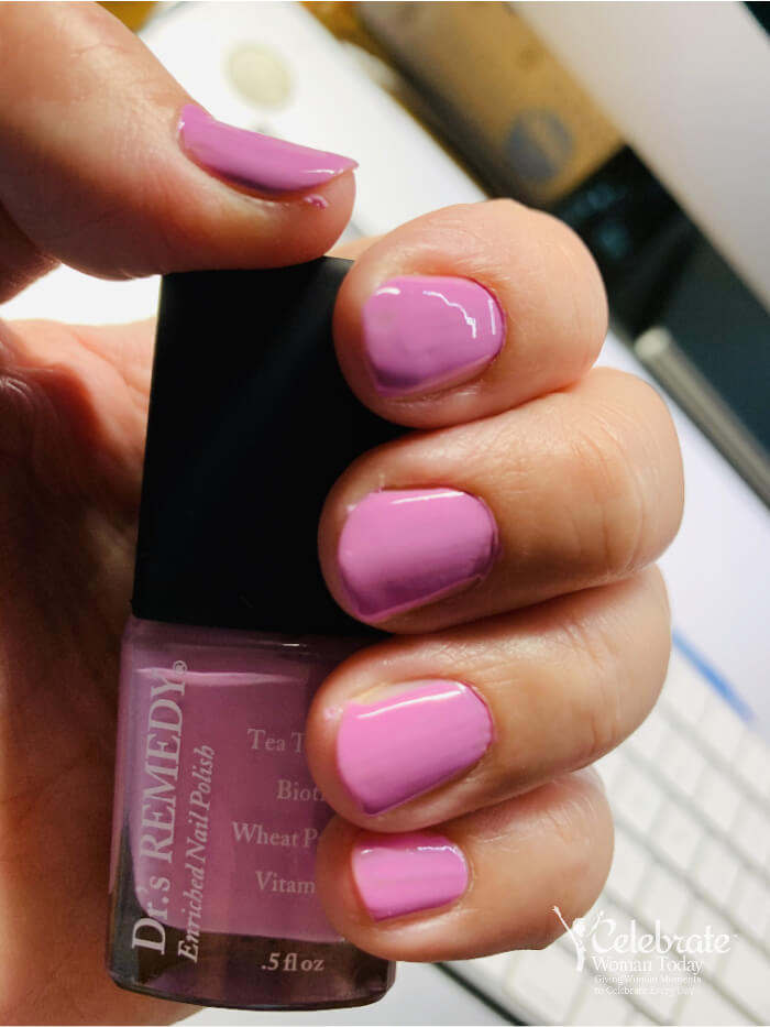Non-toxic nail polish by Dr's Remedy
