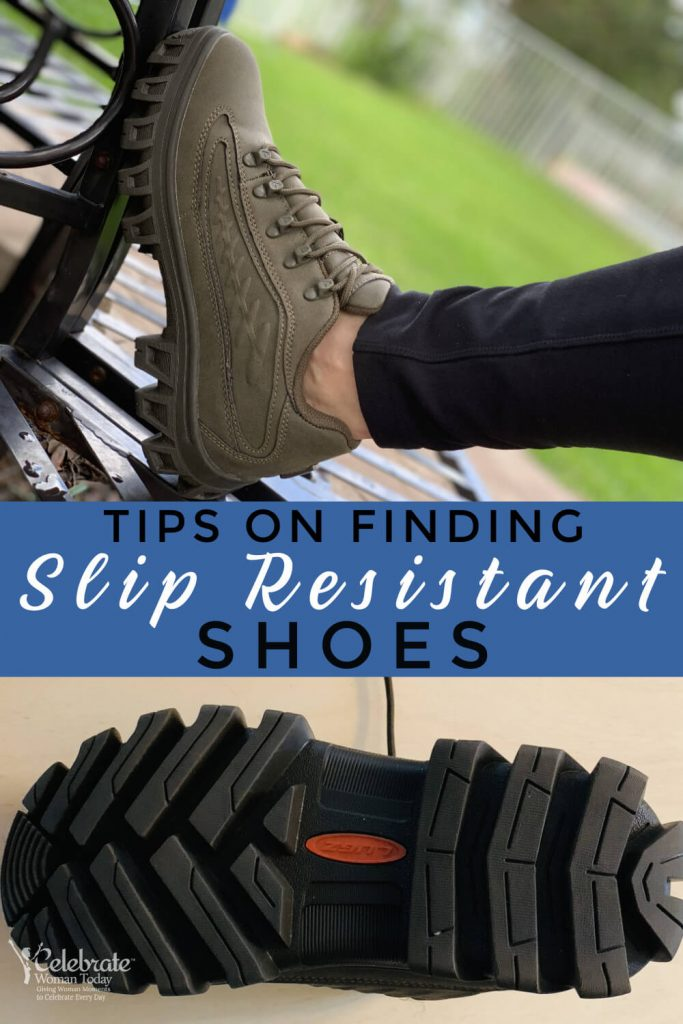 Tips on finding slip resistant shoes