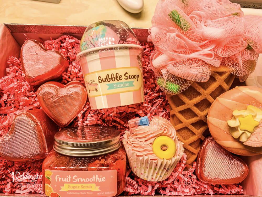 self-care bubble bath products