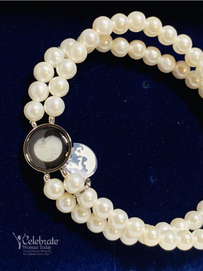 moonglow pearl bracelet