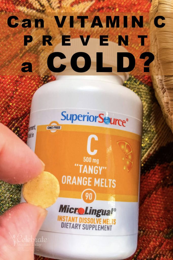 Can vitamin C prevent a cold