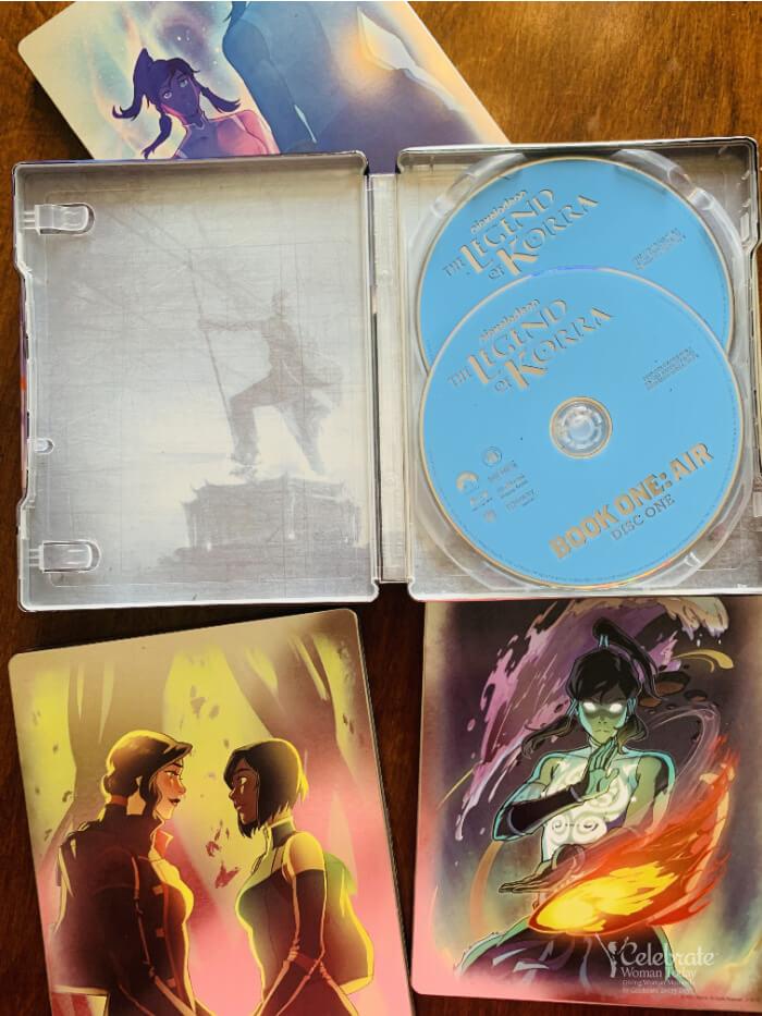 the legend of korra blu-ray dvds
