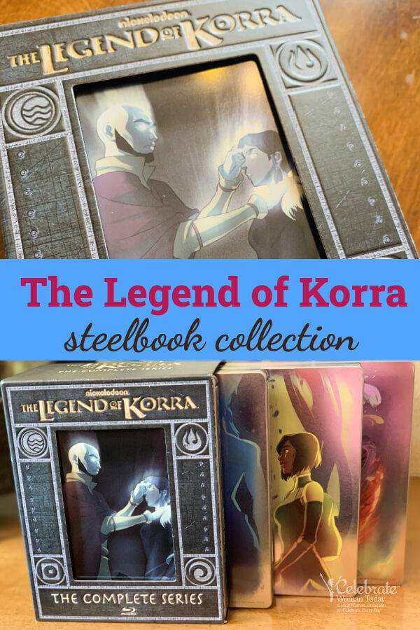 the legend of korra steelbook set
