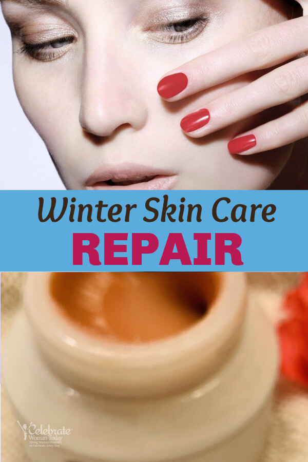 winter skin care repair at home