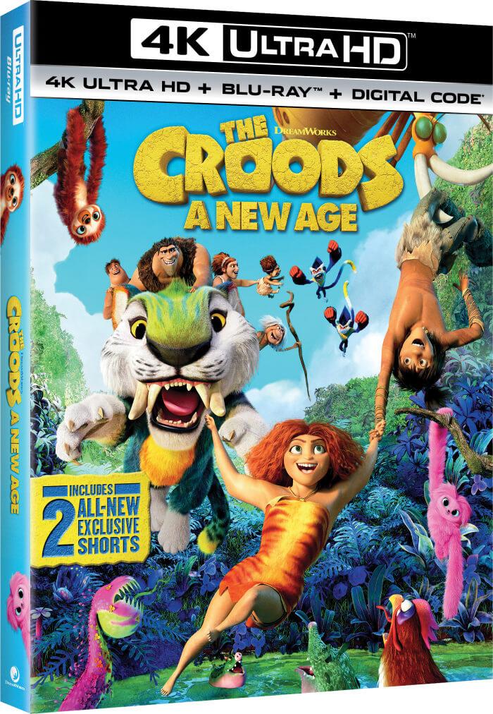 croods 4K ultra hd dvd