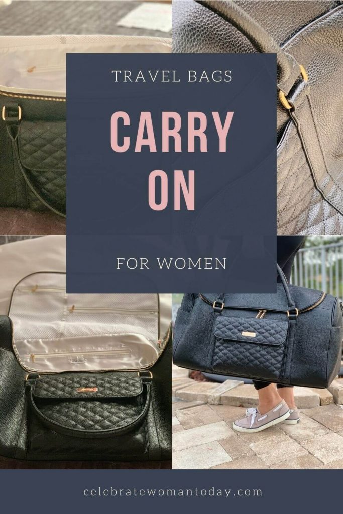 travel bags for women carry on