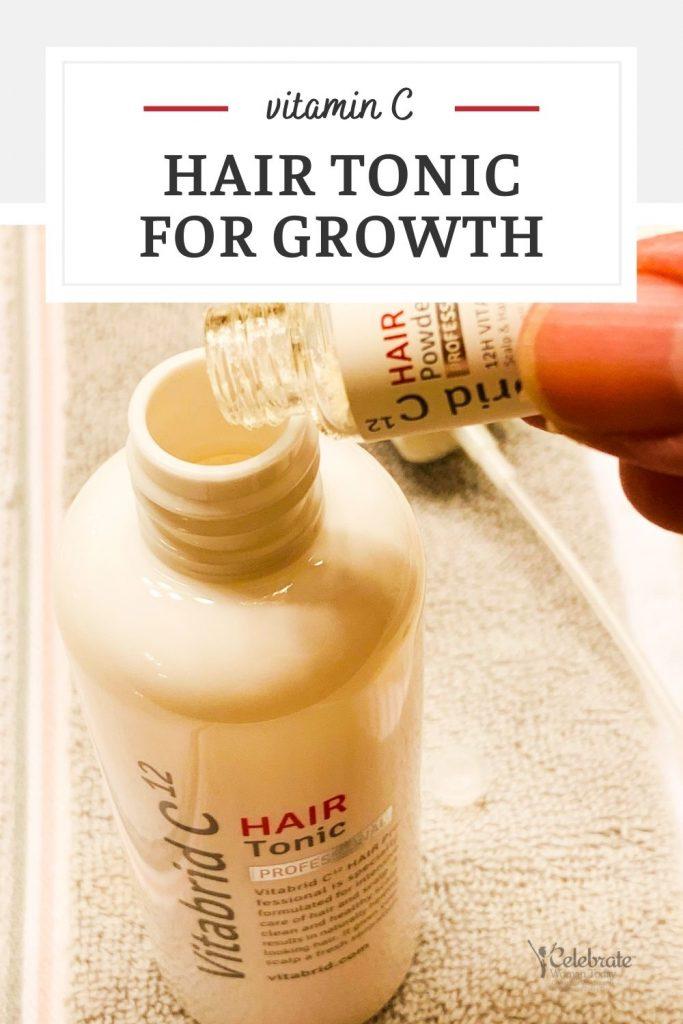 vitamin C hair tonic for growth