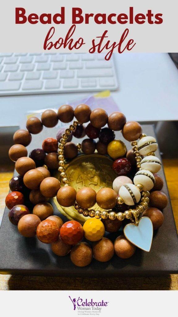 isabelle grace bead bracelets boho style