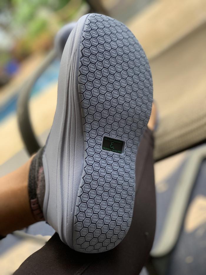 Emeril Lagasse blue clog slip resistant traction